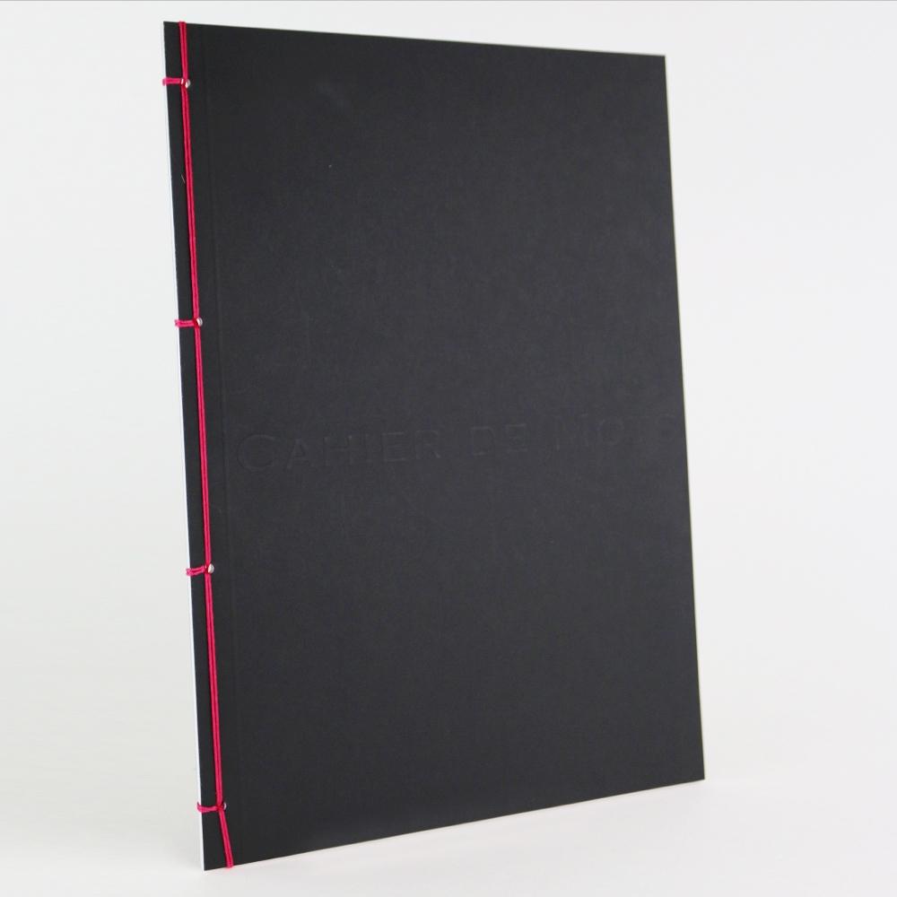 Cahier de note a4 avec couture japonaise imprimerie de paris - Papeterie japonaise paris ...