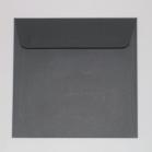 Enveloppe carrée noire 165 X 165 mm