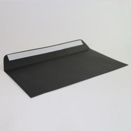 Enveloppe Noire 160 X 310 mm