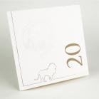 Carte de vœux imprimée & gaufrée