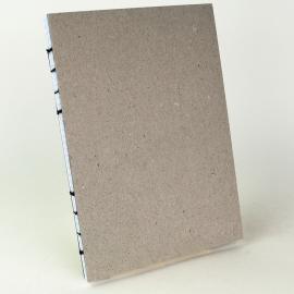 Cahier avec couture registre