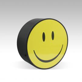 Boite ronde smiley