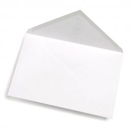 Enveloppe Blanche Marquage à Chaud