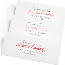 Enveloppe & Calligraphie
