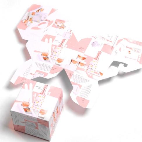 Cube sauteur gaufré