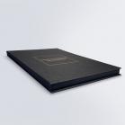 Boîte faux-livre à dorures
