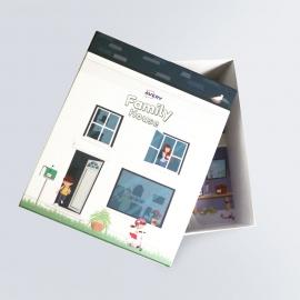 Boîte cloche illustrée
