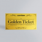 Ticket d'Or - Invitation