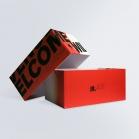 Boîte cloche imprimée