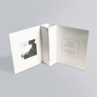 Pochette disque avec gaufrage