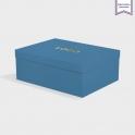 Boîte cloche Adriatic avec dorure
