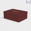 Boîte cloche Claret avec dorure