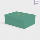 Boîte cloche Emerald avec dorure