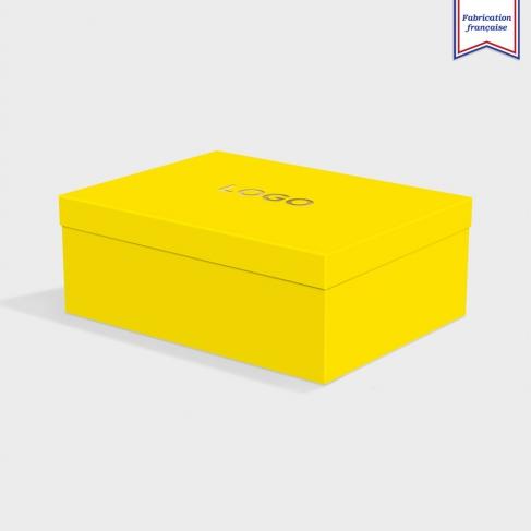Boîte cloche Factory Yellow avec dorure