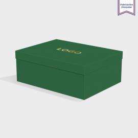 Boîte cloche Forest avec dorure