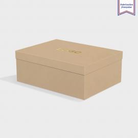 Boîte cloche Harvest avec dorure