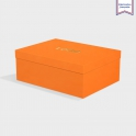 Boîte cloche Mandarin avec dorure