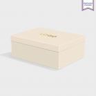 Boîte cloche Mist avec dorure