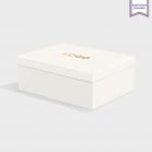 Boîte cloche Natural avec dorure