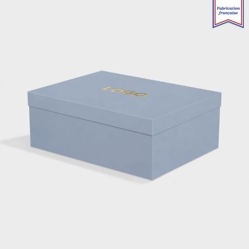 Boîte cloche New Blue avec dorure