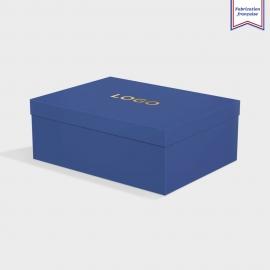 Boîte cloche Sapphire avec dorure