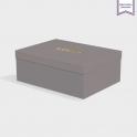 Boîte cloche Smoke avec dorure