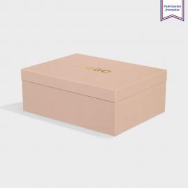 Boîte cloche Stone avec dorure