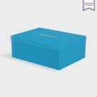 Boîte cloche Tabriz Blue avec dorure