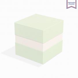 Boite à gorge neutre pistachio
