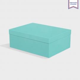 Boite Cloche Turquoise