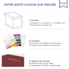Boite Cloche Imperialblue