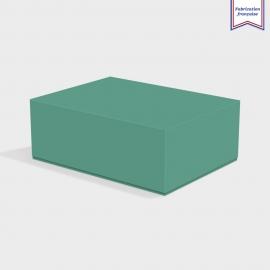 Boite cloche retombante emerald