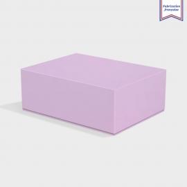 Boite cloche retombante lavender