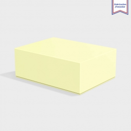 Boite cloche retombante sorbet yellow