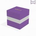 Boite à gorge purple avec dorure