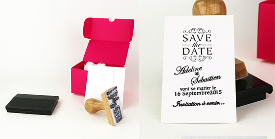 La Save the Date Box par Imprimerie de Paris